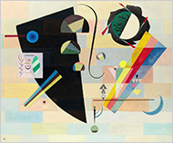 "Kandinsky's oil painting ""Dramatic and Mild"" (1932) is the star of Sotheby's fall sales of pieces amassed by the collector and philanthropist Arthur M. Sackler. An example of Kandinsky's mature style, the work is expected to bring $6 million to $8 million."