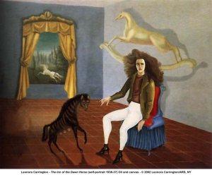 The Inn of the Dawn Horse by Lenora Carrington (self portrait 1936-37)