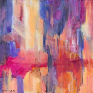 Canyon Expressions, an Abstract by Christina Madden