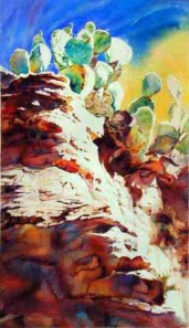 """Southwest Canyon Tribe"" by Elaine Frenett -Limited Edition Gicleé"