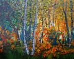 Traditional Autumn Landscape by Wanda Pepin