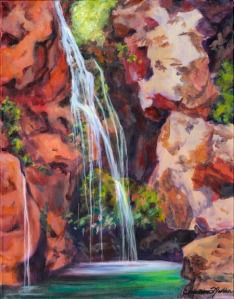 Zion's Hidden Pool by Christina Madden
