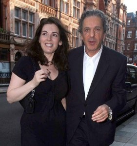 Get the picture: one of the few photographs of Charles Saatchi with his wife Nigella Lawson. He says he avoids the press because he is 'too sensitive'