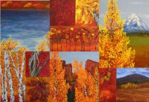 The Many Faces of Autumn by Wanda Pepin