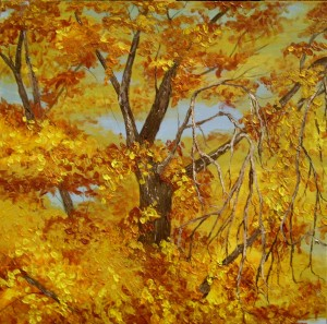 Autumn Tree Top by Wanda Pepin