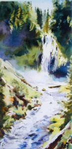 Wild & Free Falls by Elaine Frenett
